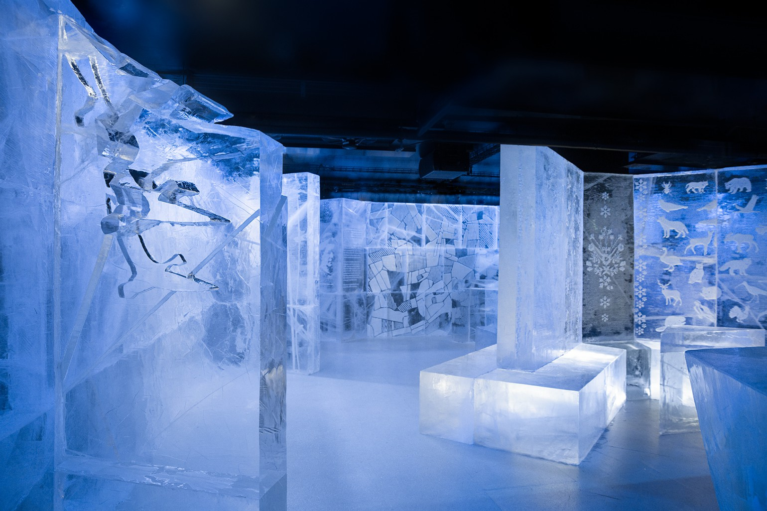 ICEBAR BY ICEHOTEL STOCKHOLM, Nordic C Hotel, Northbound Adventure! Design by: Christian Strömqvist & Kalle Ekeroth